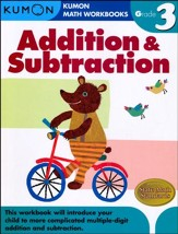 Kumon Addition & Subtraction, Grade 3