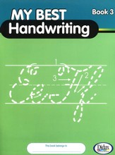My Best Handwriting, Book 3, Grades K-3