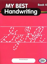 My Best Handwriting, Book 4, Grades K-3