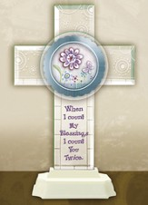 Count My Blessings Cross