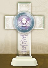 Pedestal Cross, Communion