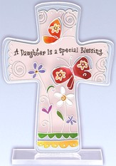 A Daughter is a Special Blessing Cross