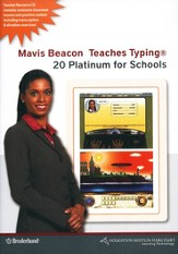 Mavis Beacon Teaches Typing Version 20 for Schools CD-ROMs
