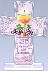May God Bless You on Your First Communion Cross