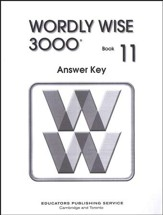 Wordly Wise 3000, Grade 11, Answer Key for Student Text - Slightly Imperfect