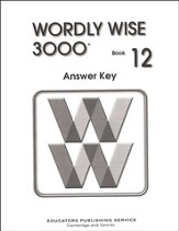 Wordly Wise 3000, Grade 12, Answer Key for Student Text