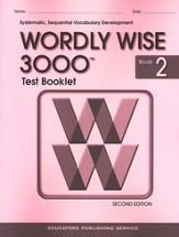 Wordly Wise 3000, Grade 2, Test Booklet with Answer Key
