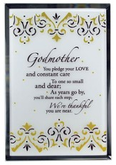Godmother Mirror Plaque