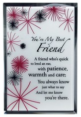 You're My Best Friend Mirror Plaque