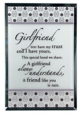 Girlfriend Mirror Plaque