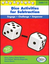 Dice Activities for Subtraction; Grades 1-3