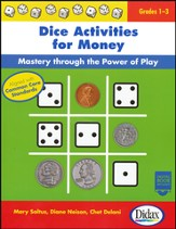 Dice Activities for Money; Grades 1-3 with Digital Book