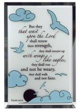 Isaiah 40:31 Mirror Plaque