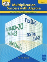 Multiplication Success with Algebra; Grades 3-5 Activities, Practice, Assessment