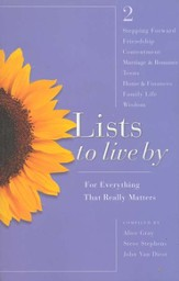 Lists to Live By: The Second Collection