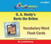 Henty's Historical Novel: Beric the Briton Vocabulary Flash Cards - PDF Download [Download]