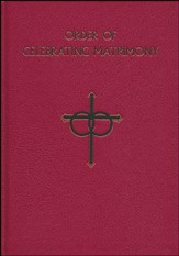 Order of Celebrating Matrimony, Hardcover