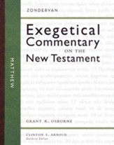Matthew: Zondervan Exegetical Commentary on the New Testament [ZECNT]