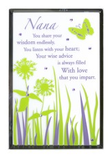 Nana, Vertical Mirror Plaque