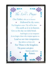 Lord's Prayer, Vertical Mirror Plaque