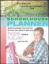 2013-14 Special Learners Schoolhouse Planner - PDF Download [Download]