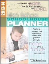 2013-14 High School Schoolhouse Planner - PDF Download [Download]