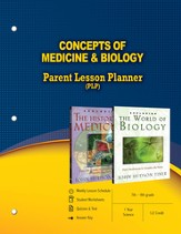 Concepts of Medicine & Biology Parent Lesson Plan - PDF Download [Download]