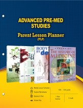 Advanced Pre-Med Studies Parent Lesson Plan - PDF Download [Download]