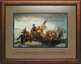 Crossing the Delaware Framed Print
