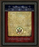 First Prayer of the Continental Congress Framed Art