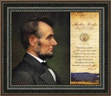Abraham Lincoln, Nevertheless, Framed Art
