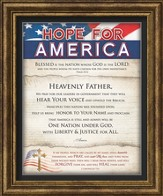 Hope For America Framed Art