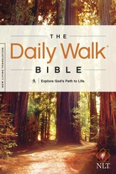 The Daily Walk Bible NLT - eBook