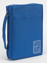 Hope Bible Cover, Blue