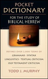 Pocket Dictionary for the Study of Biblical Hebrew - PDF Download [Download]