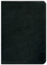 ESV Ryrie Study Bible, Black Calfskin Leather   - Imperfectly Imprinted Bibles