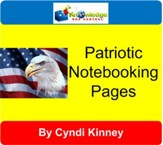Patriotic Notebooking Pages - PDF Download [Download]