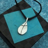Water of Life Pewter Necklace