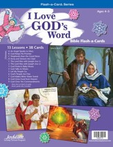 I Love God's Word Beginner (ages 4 & 5) Bible Stories, Revised Edition