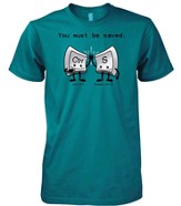 Be Saved Shirt, Green, X-Large