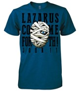 Lazarus Shirt, Blue, Large
