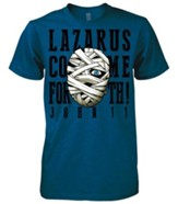 Lazarus Shirt, Blue, Small