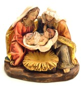 Kneeling Holy Family Figurine