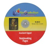 Ancient Egypt Notebooking Pages PDF CD-ROM