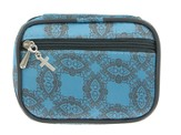 Pillbox with Cross Charm, Blue