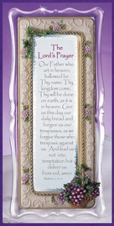 Lords Prayer Framed Sentiment