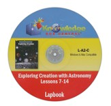 Exploring Creation with Astronomy Lessons 7-14 Lapbook CD-Rom
