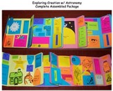 Exploring Creation with Astronomy Lessons 7-14 Lapbook (Assembled)