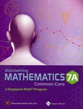 Discovering Mathematics Textbook 7A (Common Core State Standards Edition)