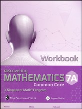 Dimensions Mathematics Workbook 7A (Common Core State Standards Edition)